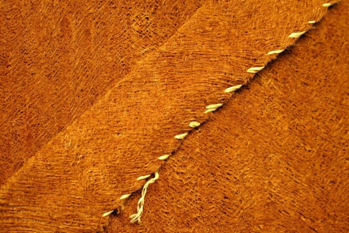 Bark Cloth Detail