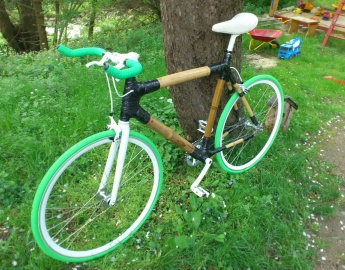 Green White Singlespeed