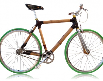 Singlespeed Green by Bambooride